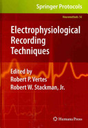 Electrophysiological Recording Techniques Book PDF