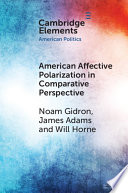 American Affective Polarization in Comparative Perspective Book PDF