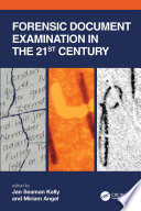 Forensic Document Examination in the 21st Century Book
