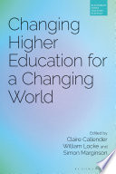 Changing Higher Education For A Changing World