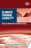 Climate Change Liability Book