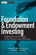 Foundation and Endowment Investing Pdf/ePub eBook