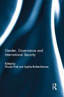 Gender  Governance and International Security