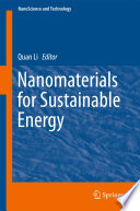 Nanomaterials for Sustainable Energy Book
