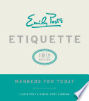 Emily Post S Etiquette 19th Edition