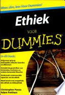 Ethiek Voor Dummies Druk 1