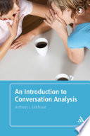 An Introduction to Conversation Analysis Book