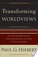 Transforming Worldviews Book