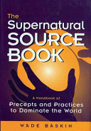 The Supernatural Source Book