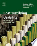Cost justifying Usability Book