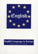 The English Language in Europe