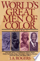 World s Great Men of Color  Volume I