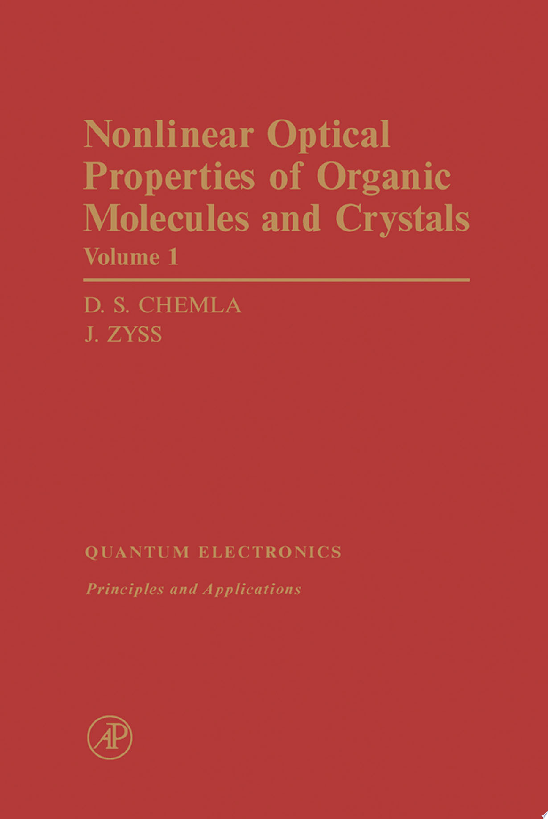 Nonlinear Optical Properties of Organic Molecules and Crystals