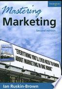 Mastering Marketing Book