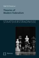 Theories of Modern Federalism [Pdf/ePub] eBook