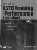 The     ASTD Training   Performance Sourcebook