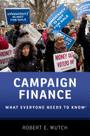 Campaign Finance Pdf/ePub eBook