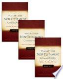 Luke 1 17 MacArthur New Testament Commentary Set