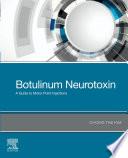 Botulinum Neurotoxin E Book