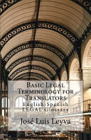 Basic Legal Terminology for Translators