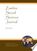 Zambia Social Science Journal Vol 3 No 2