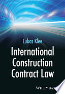 Book Cover: Industrial Construction Contract Law