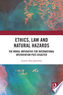 Ethics Law And Natural Hazards