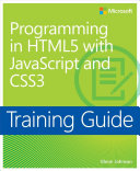 Training Guide Programming in HTML5 with JavaScript and CSS3  MCSD