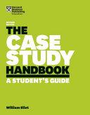 Thumbnail The case study handbook