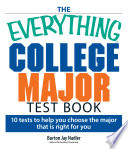 The Everything College Major Test Book