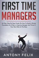 First Time Managers