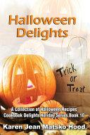 Halloween Delights Cookbook Pdf