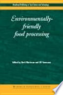 Environmentally Friendly Food Processing Book PDF