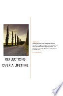 Reflections Over a Lifetime