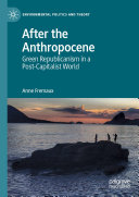 After the Anthropocene