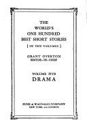 """The"" World's One Hundred Best Short Stories ...: Drama"