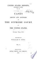 United States Reports  Supreme Court