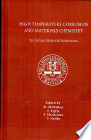 High Temperature Corrosion And Materials Chemistry Book PDF