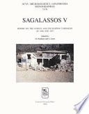 Sagalassos V Book