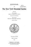 Journal of the New York Botanical Garden