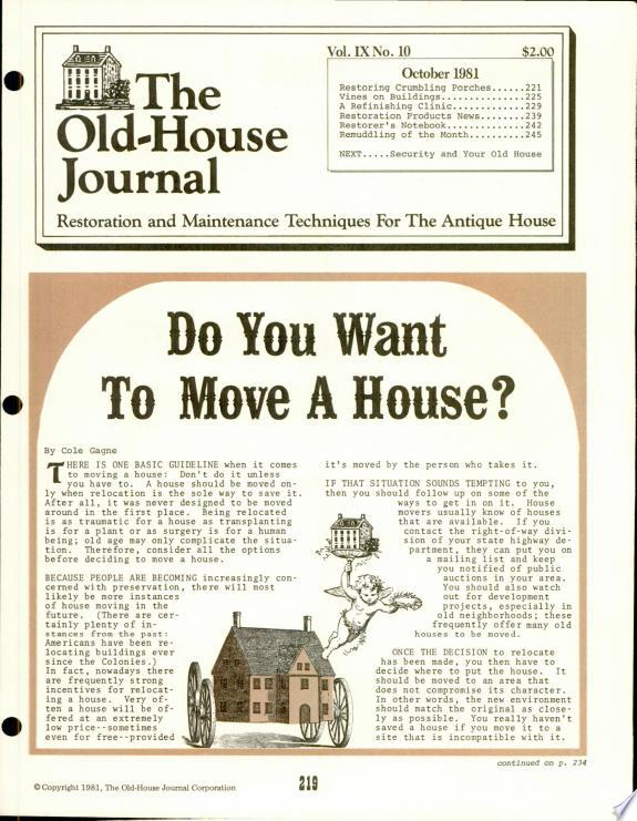 Old-House+Journal