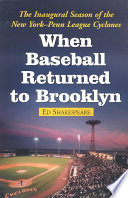 When Baseball Returned to Brooklyn