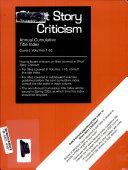 Short Story Criticism  Annual Cumulative Title Index