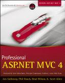 Professional ASP.NET MVC 4 Pdf/ePub eBook