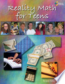 Reality Math For Teens Book