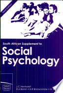 South African Supplement To Social Psychology 3e