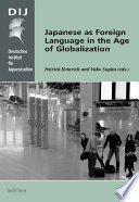 Japanese As Foreign Language In The Age Of Globalization