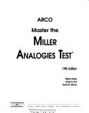 Master The Miller Analogies Test