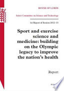 Sport And Exercise Science And Medicine