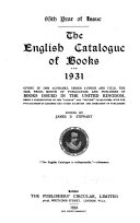Pdf The English Catalogue of Books [annual]